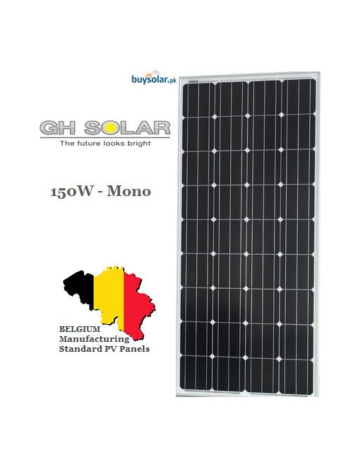 Gh Solar 150w Mono Crystalline Buysolar Pk Online Solar