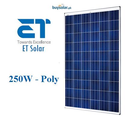 ET Solar 250w-poly