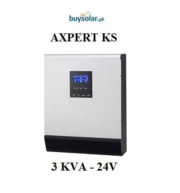 Axpert KS 3KVA 24V Hybrid Inverter