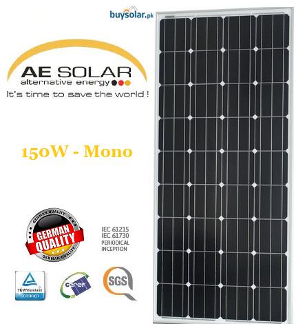 AE Solar 150W Mono-crystalline