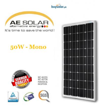 AE Solar 50W Mono-crystalline