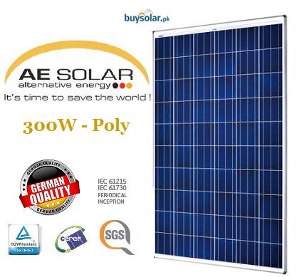 AE Solar 300W Poly-Crystalline