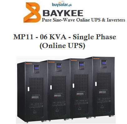 Baykee 6KVA Online UPS (Single-Phase)