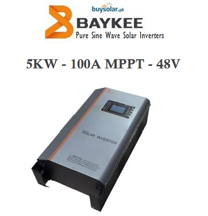 Baykee 5KW MPPT Solar Hybrid Inverter