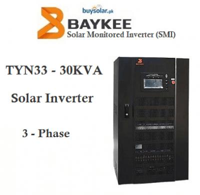 Baykee 30KVA Solar Hybrid Inverter