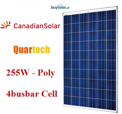 Canadian Solar 255W 4bb Poly-Crystalline