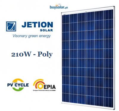Jetion Solar 210W Poly-Crystalline