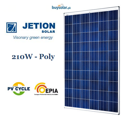 Jetion Solar 210W Poly-Crystalline
