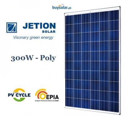 Jetion Solar 300W Poly-Crystalline