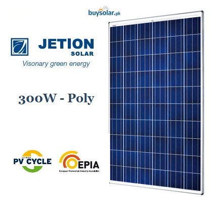 Jetion Solar 300W Poly-Crystalline