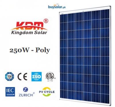 Kingdom Solar 250Wp Poly-Crystalline