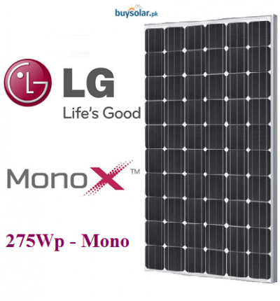 LG MonoX 275Wp Mono-Crystalline