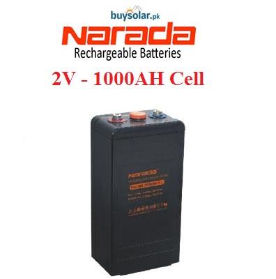 Narada 2V 1000AH Cell