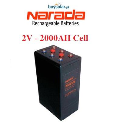 Narada 2V 2000AH Cell