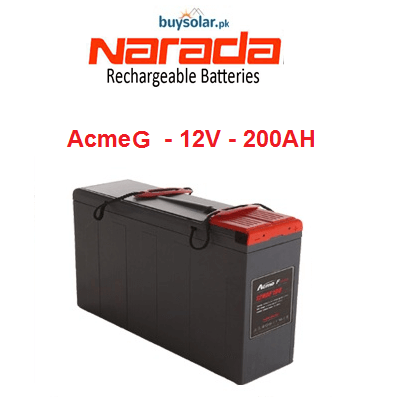 Narada AcmeG 12V 200AH Battery