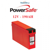 PowerSafe 12V 190AH Battery (France)