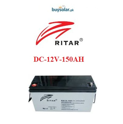 Ritar DC 12V 150AH Battery