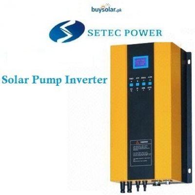 Setec Solar Pump Inverter (VFD)