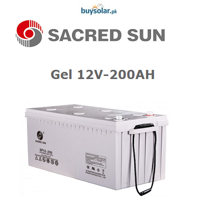 Sacred Sun 12V 200AH Battery