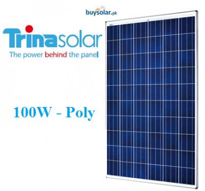 Trina Solar 100W Poly-Crystalline