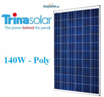 Trina Solar 140W Poly-Crystalline