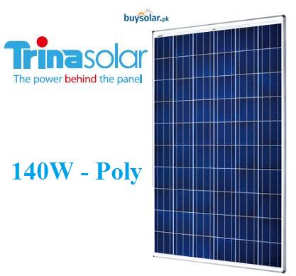 Trina Solar 140w Poly Crystalline Buysolar Pk Online