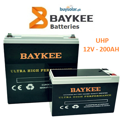 Baykee UHP 12V 200AH Battery