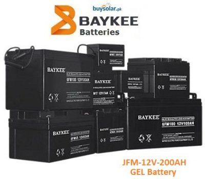 Baykee Gel 12V 200AH Battery