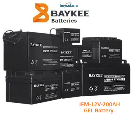 Baykee Gel 12V 200AH Battery