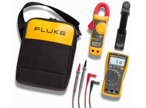 Fluke 117/322 Electricians Multimeter and Clamp Meter Combo Kit