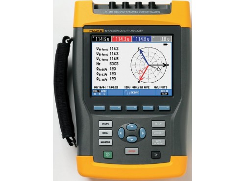 Fluke 434 Three Phase Power Quality Analyzer Kit (Series 1)