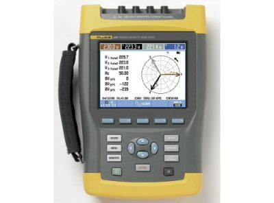 Fluke 435 Three Phase Power Quality Analyzer Kit (Series 1)