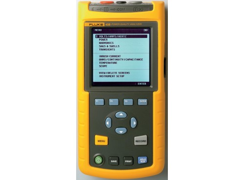 Fluke 43B Single Phase Power Quality Analyzer Kit