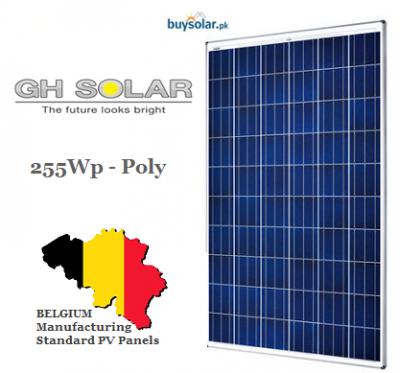 GH Solar 255W Poly-Crystalline