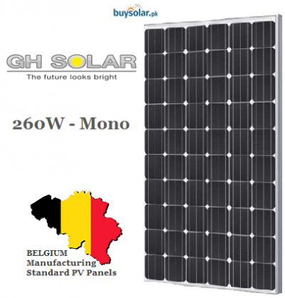 GH Solar 260W Mono-Crystalline