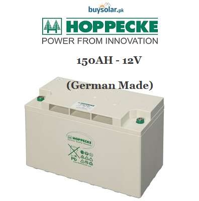 Hoppecke 12V 150AH Battery (Germany)