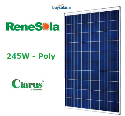 Renesola 245Wp Clarus Poly-Crystalline