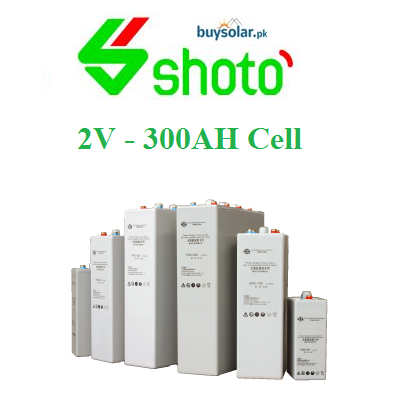 Shoto 2V 300AH Cell
