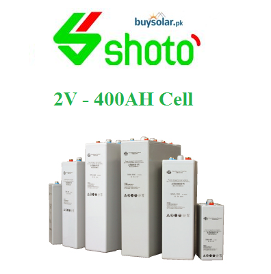 Shoto 2V 400AH Cell