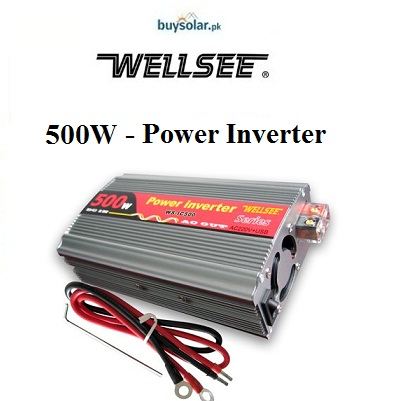 WellSee 500W Power Inverter