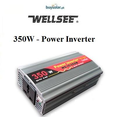 WellSee 350W Power Inverter