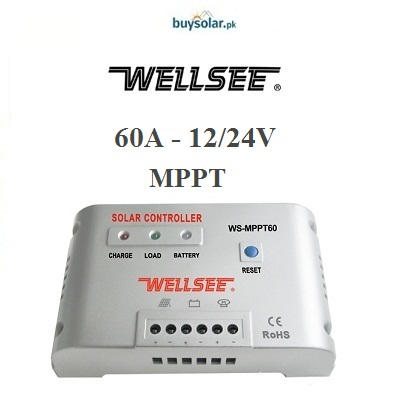 WellSee MPPT 60A 12/24V Charge Controller