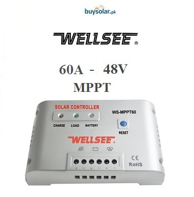 WellSee MPPT 60A 48V Charge Controller