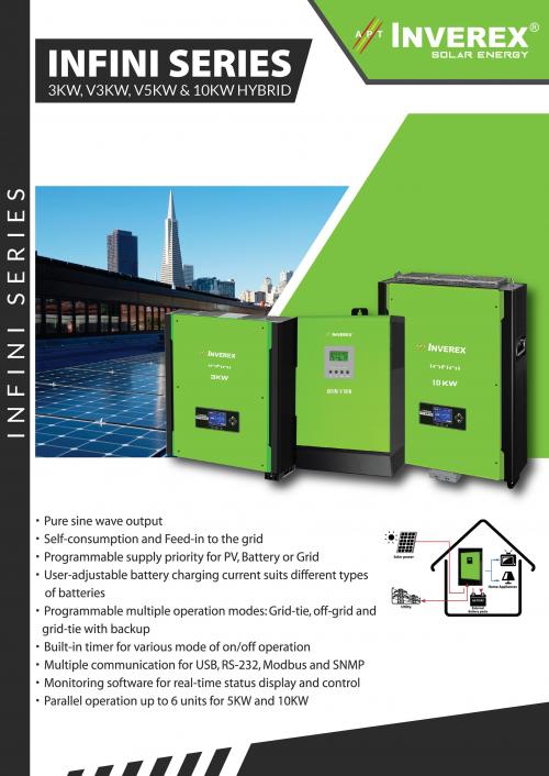 Inverex Solar Inverter Price In Pakistan Buysolar Pk