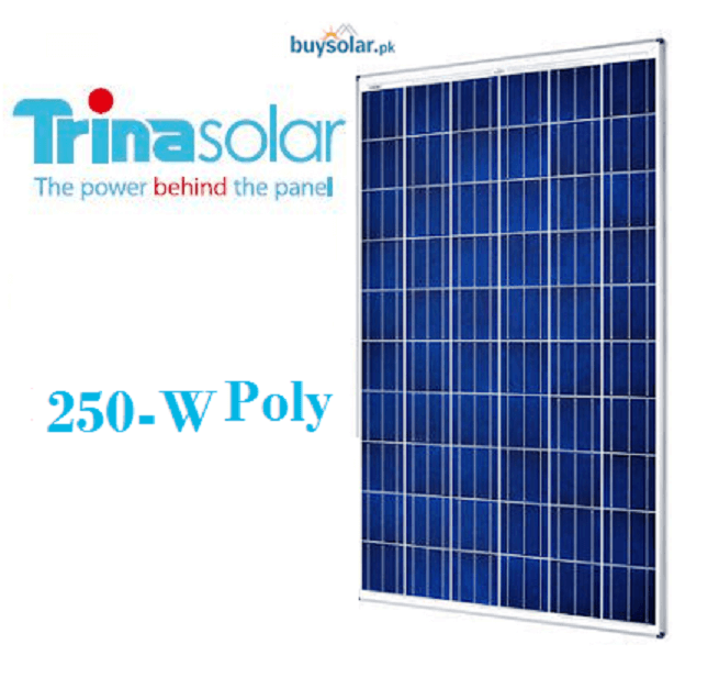 Trina Solar 250 W poly